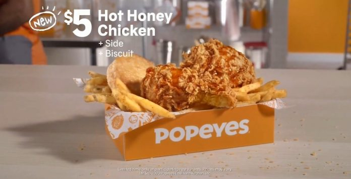 Popeyes Introduces New Hot Honey Chicken