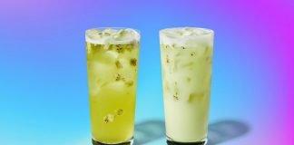 Starbucks Pours New Star Drink And New Kiwi Starfruit Starbucks Refreshers