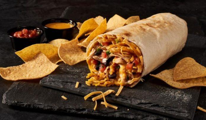 Tijuana Flats Adds New Queso Crunch Burrito To The Menu