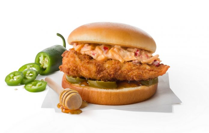 Chick-fil-A Tests New Sweet & Spicy Honey Pepper Pimento Chicken Sandwich