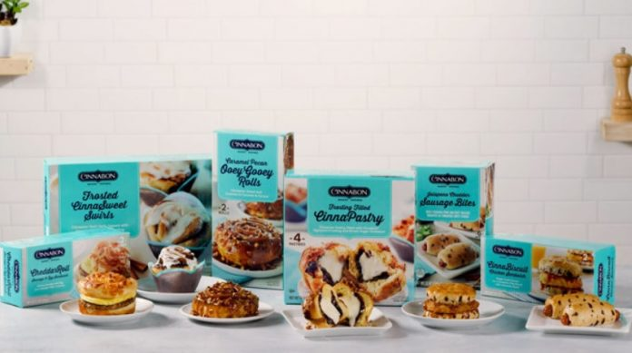 Cinnabon Offers New CinnaBiscuit Chicken Sandwich And Jalapeno Cheddar Sausage Bites As Part Of New Frozen Breakfast Creations Line