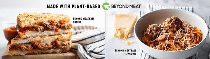 Corner Bakery Adds New Beyond Meatball Panini And Beyond Meatball Linguine