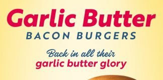 Garlic Butter Bacon Burger Is Back At Sonic