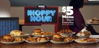 IHOP Unveils New IHOPPY Hour Menu