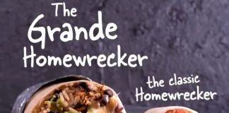 Moe's Debuts New Grande Homewrecker Burrito