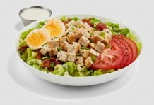 New Buffalo Wedge Salad And New Chopped Cobb Salad Land At Buffalo Wild Wings