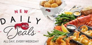 New Daily Deals Menu Arrives At Red Lobster