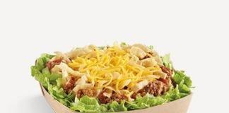 New Mini Taco Salad Arrives At Del Taco