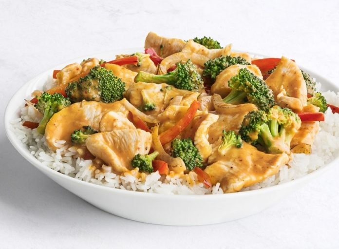 New Thai Coconut Curry Chicken Arrives At Pei Wei