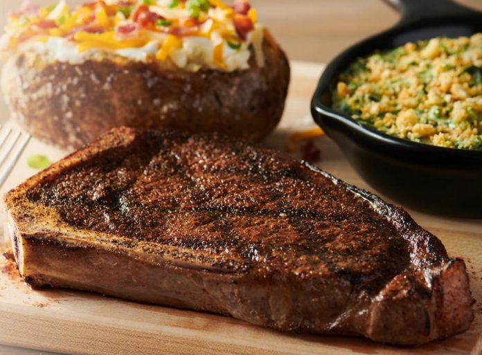 Outback's New Lower-Priced Menu Includes New Steak 'N Mate Combos And New Bone-In NY Strip