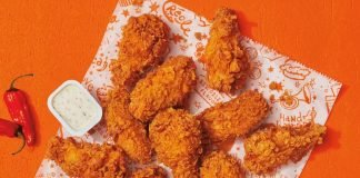 Popeyes Adds Ghost Pepper Wings to the Menu