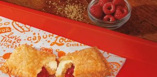 Popeyes Serves Up New Raspberry Cheesecake Fried Pie