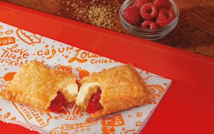 Popeyes Serves Up New Raspberry Cheesecake Fried Pie