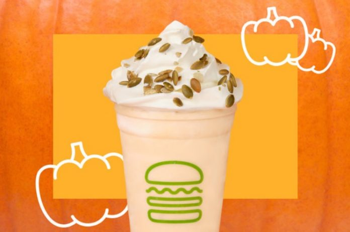 Shake Shack Brings Back Libby's Pumpkin Shake