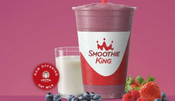 Smoothie King Blends New Vegan Mixed Berry Smoothie