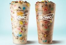 Sonic Whips Up New Vanilla Trick or Treat Blast And New Chocolate Trick or Treat Blast
