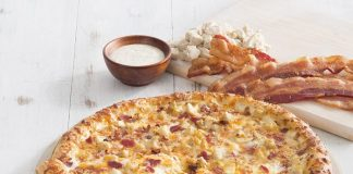 The Chicken Bacon Ranch Pizza Is Back At Hunt Brothers Pizza