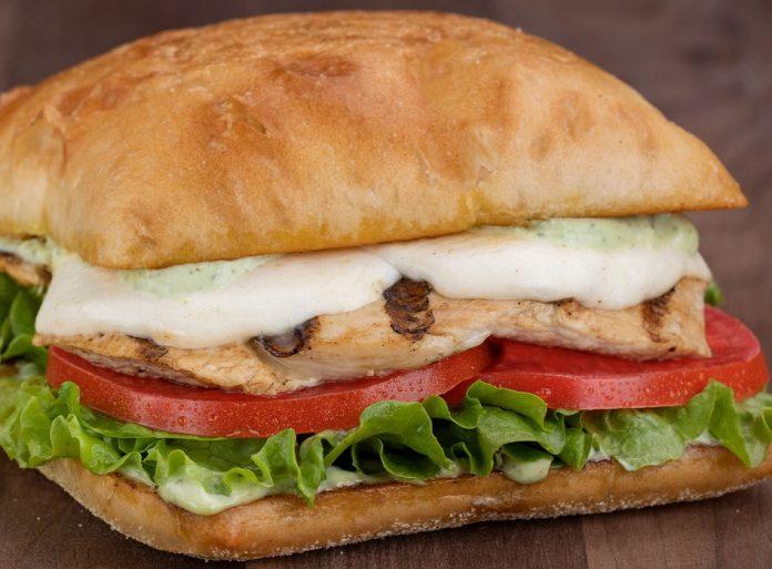 The Habit Puts Together New Chicken Caprese On Garlic Ciabatta Sandwich
