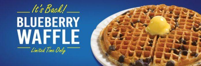 Waffle House Brings Back Blueberry Waffle