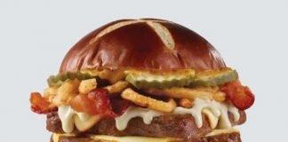 Wendy's Debuts New Pretzel Bacon Pub Cheeseburger And New Pretzel Pub Chicken Sandwich