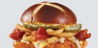 Wendy's Unveils New Pretzel Pub Spicy Chicken Sandwich And Pretzel Pub Grilled Chicken Sandwich As Part Of New Pretzel Bacon Pub Sandwich Lineup