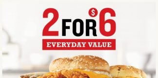 Arby's Adds Chicken Cheddar Ranch Sandwich To 2 For $6 Everyday Value Deal