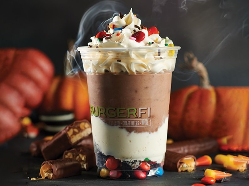 BurgerFi Tricked Out Shake