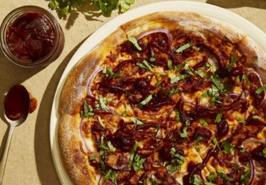 California Pizza Kitchen Tosses New Plant-Based BBQ Don't Call Me Chicken Pizza