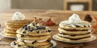 IHOP Releases New Milk 'n' Cookies Pancakes And New Cookies 'n' Cream Hot Chocolate