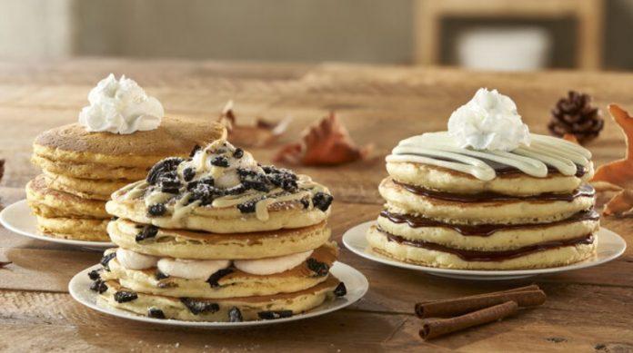 IHOP Releases New Milk 'n' Cookies Pancakes And New Cookies 'n' Cream Hot Chocolate