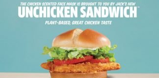 Jack In The Box Launches New Plant-Based Unchicken Sandwich