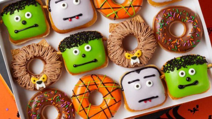 Krispy Kreme Unveils New Scary Sweet Monster Doughnuts
