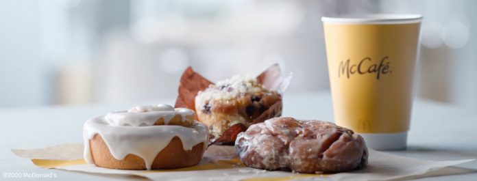 McDonald's Launches New Apple Fritter, Cinnamon Roll And Blueberry Muffin As Part Of New McCafé Bakery Lineup