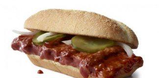McRib Is Coming Back To McDonald's Menus Nationwide