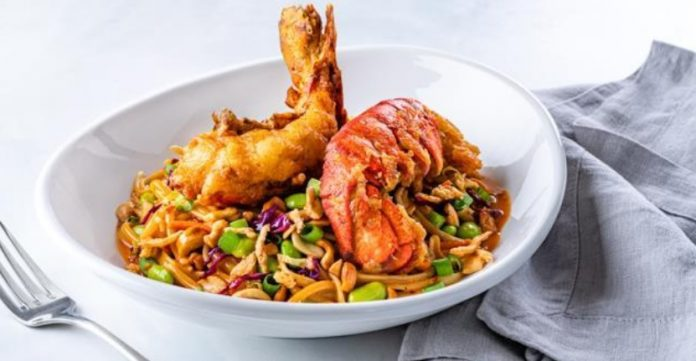 Red Lobster Introduces New Kung Pao Noodles In Three Varieties