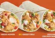TacoTime Reveals New Chicken Ranchero Burrito Menu