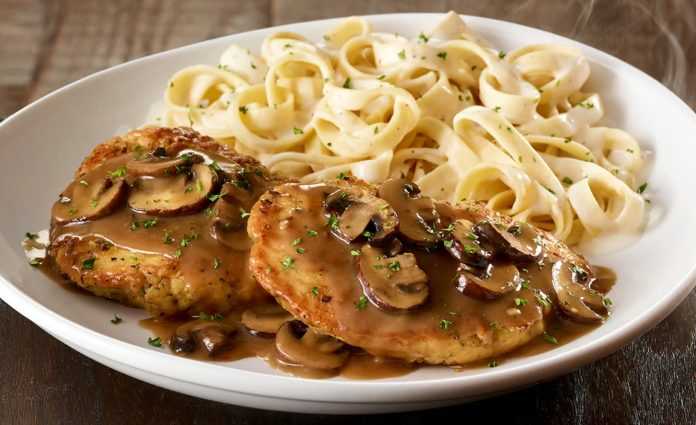 Chicken Marsala Returns To Olive Garden