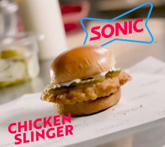 Chicken Slinger Back At Sonic