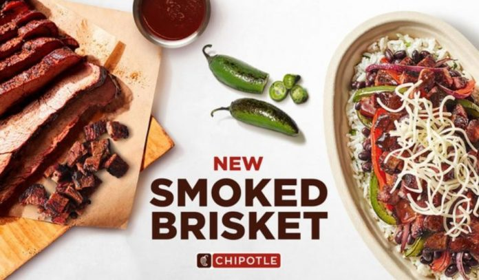 Chipotle Tests New Smoked Brisket