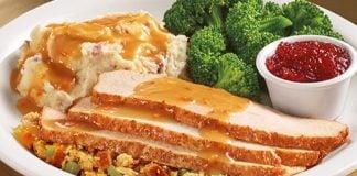 Denny's Brings Back Turkey And Dressing Dinner