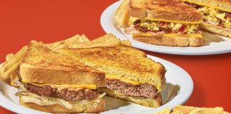 Denny's Offers The Grand Slamwich And Chick 'N' Shroom Melt As Part Of New Melts Lineup