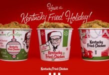 KFC Releases Vintage Holiday Buckets