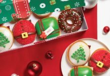 Krispy Kreme's Nicest Holiday Collection Includes New Present Doughnut And Festive Tree Doughnut