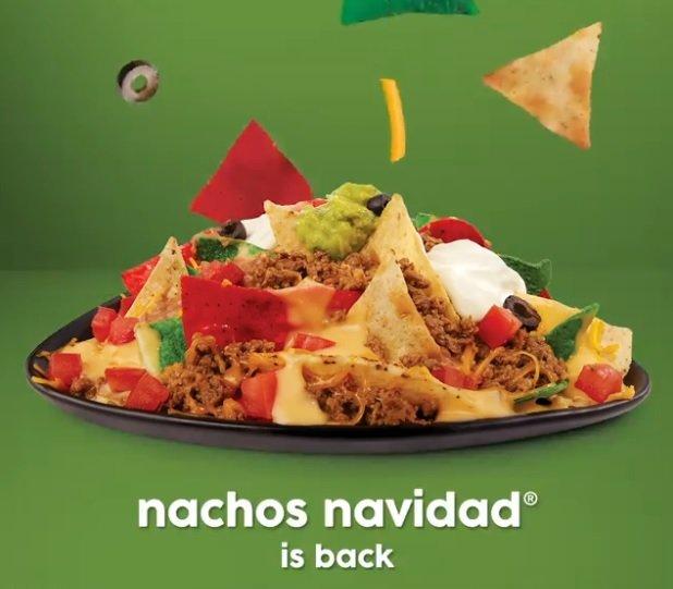 Nachos Navidad Return To Taco John's