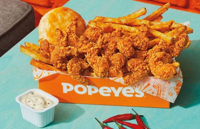 Popeyes Launches New Wicked Shrimp