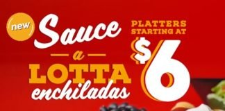 Taco John's Launches New Sauce-A-Lotta Enchiladas Nationwide