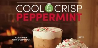 Tim Hortons' 2020 Holiday Menu Includes New Peppermint Dream Donut And New Peppermint Mocha Cold Brew
