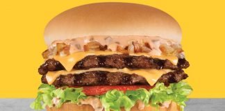 Carl's Jr. Offers Free California Classic Double Cheeseburger And Hardee's A Free Sausage & Egg Biscuit With Orders Of $20 Or More On Uber Eats