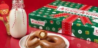 Gingerbread Donuts Return To Krispy Kreme For The Holidays