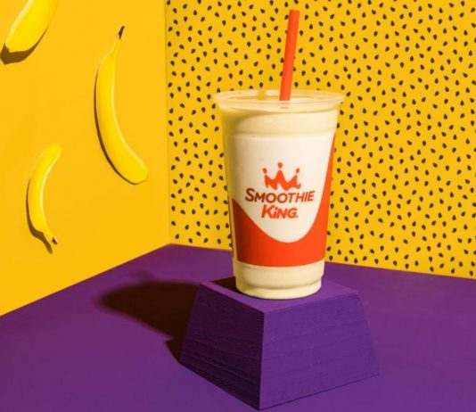 Smoothie King Reveals New Metabolism Boost Banana Passion Fruit Smoothie